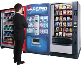 Calgary Snack Vending Machines